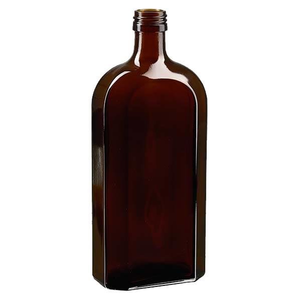 Meplatflasche braun 500ml DIN28