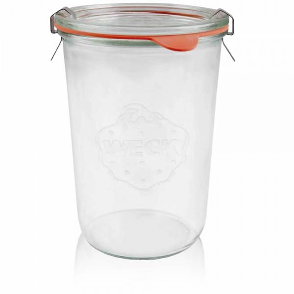 Weckglas - Einmachglas 850ml komplett
