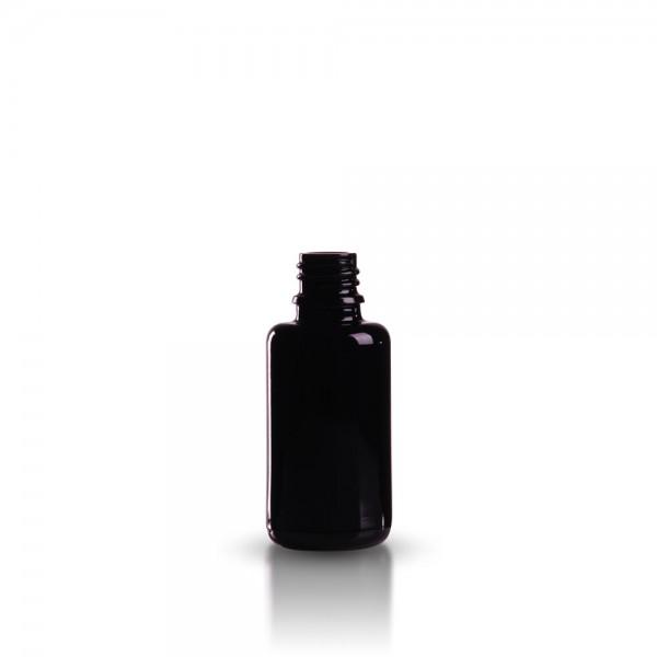 Violettglas Tropfflasche 30ml