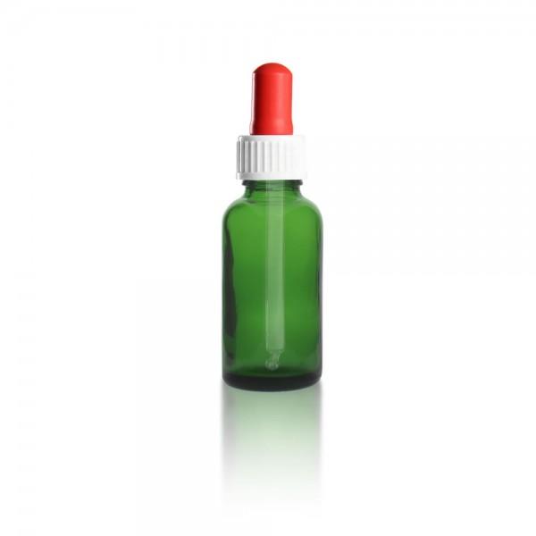 Grüne Pipettenflasche 30ml