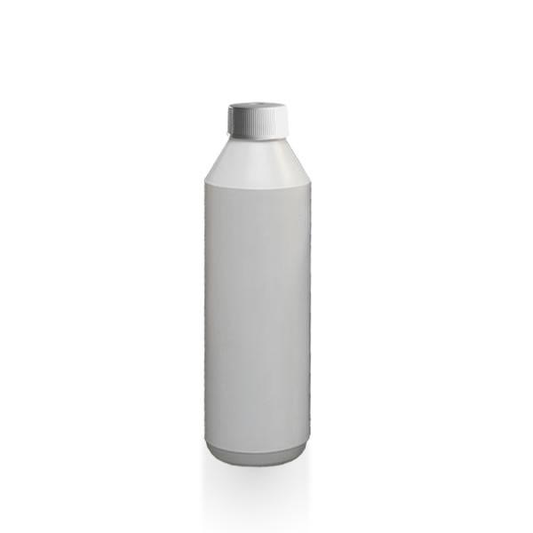 Lotionflasche rund 1000ml + Schraubverschluss