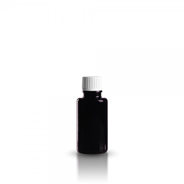 Violette 20ml Tropfflasche + Schraubverschluss