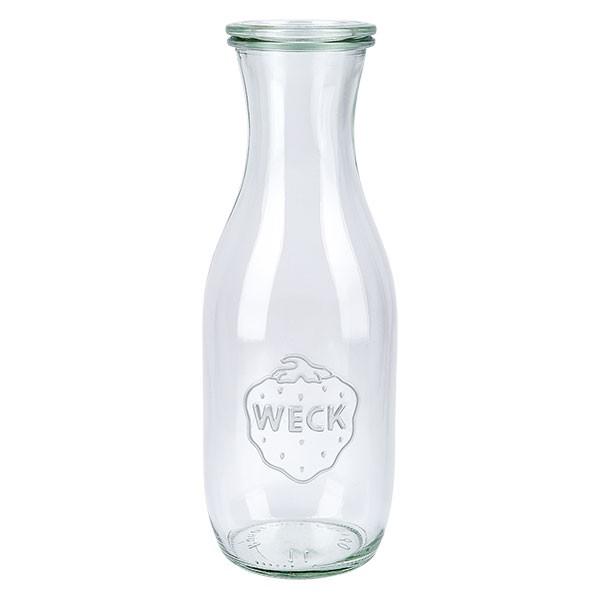 Weckglas - Saftflasche Unterteil 1062ml + Deckel
