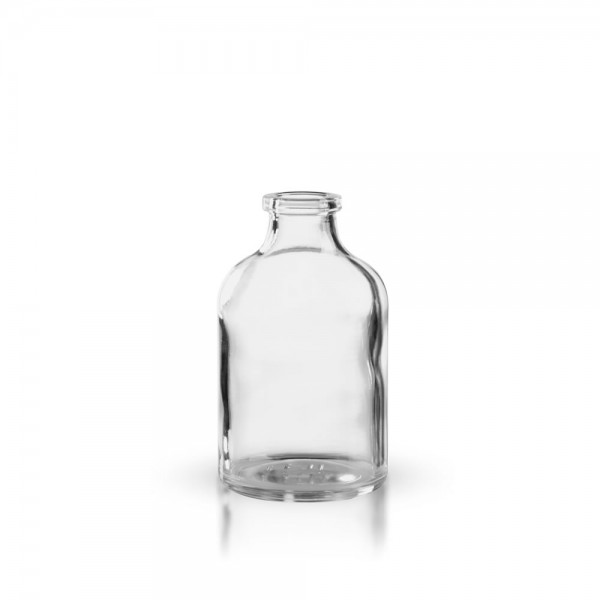Injektionsflasche Klarglas 50ml