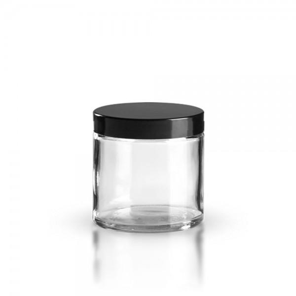 Karer Glastiegel + Deckel 120ml