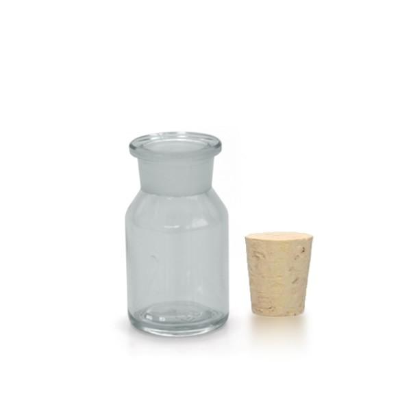 50 ml Steilbrustflasche EH inkl. Korken KG