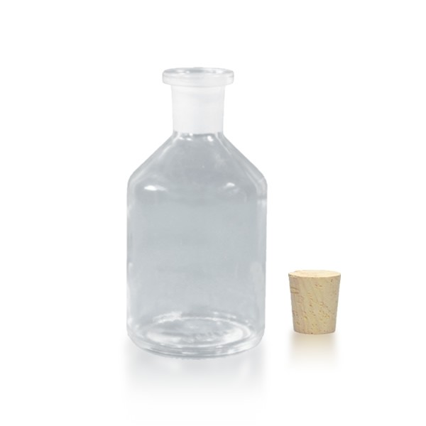 100 ml Steilbrustflasche EH inkl. Korken KG