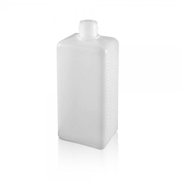 Eckige Kunststoffflasche / Vierkantflasche 500ml