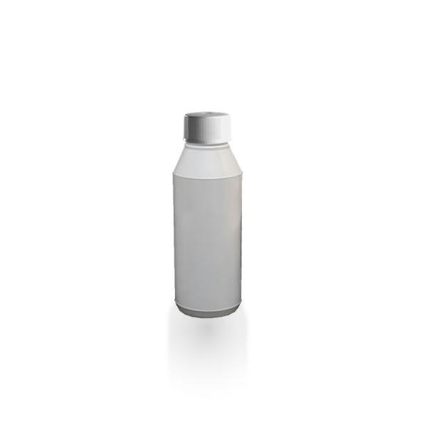 Lotionflasche rund 250ml + Schraubverschluss