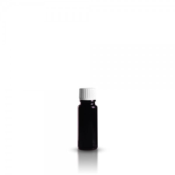 Violettglas Tropferflasche 10ml + Tropfverschluss