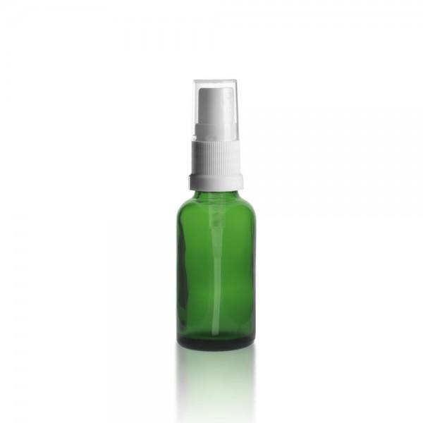 Grüne 30ml Tropfflasche + Pumpverschluss