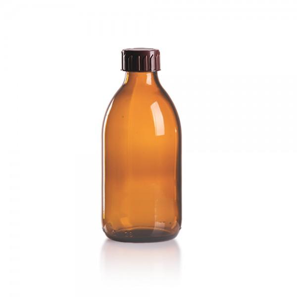 Euro Medizinflasche 250ml + Schraubverschluss