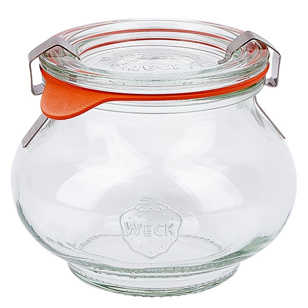 Weckglas - Schmuckglas 220ml komplett