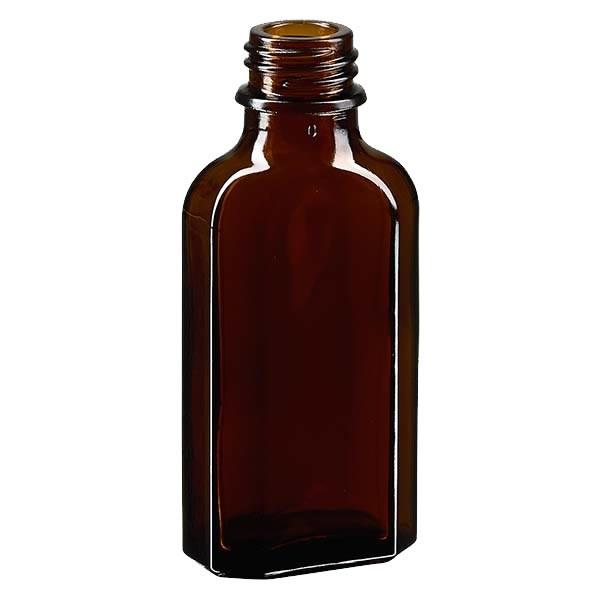 Meplatflasche braun 50ml