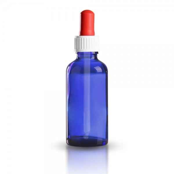 Blauglas Pipettenflasche 50ml