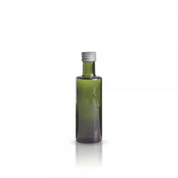 Glasflasche / Ölflasche rund 100ml grün