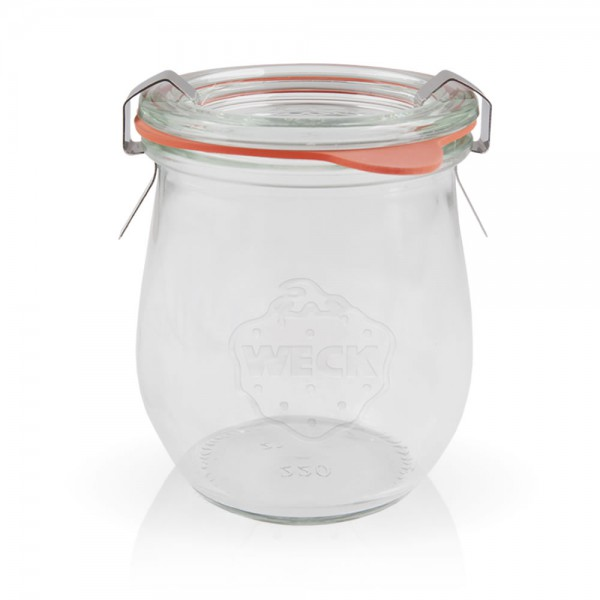 Weckglas - Tulpenglas 220ml komplett