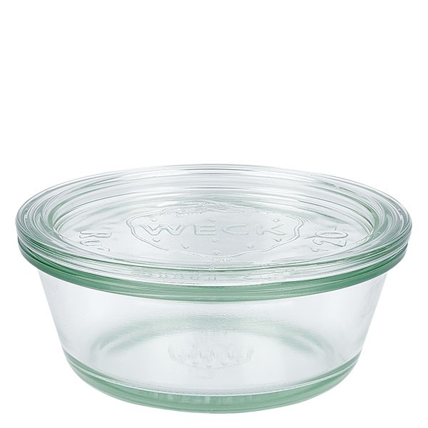 Weckglas - Gourmetglas Unterteil 300ml + Deckel