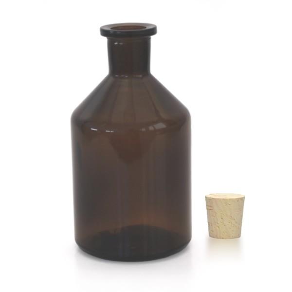 250 ml Steilbrustflasche EH inkl. Korken BG