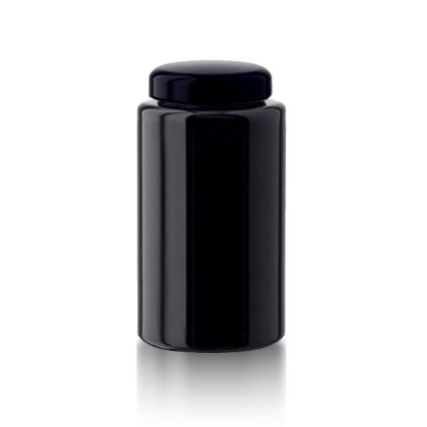 Violettglas Glastiegel + Deckel 400ml