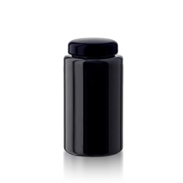 Violettglas Glastiegel + Deckel 300ml